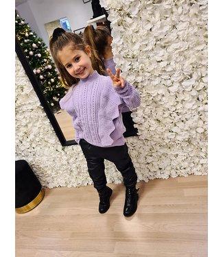 GIRLS Sweater Quinty Purple
