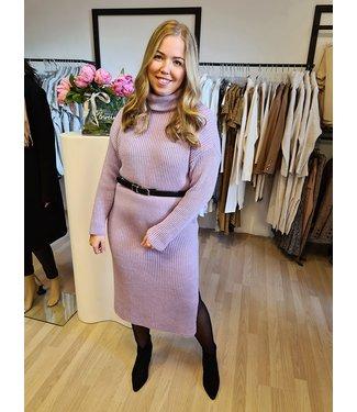 Col Dress Gigi Purple
