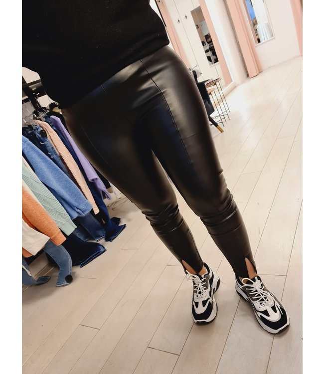 Split Legging Black