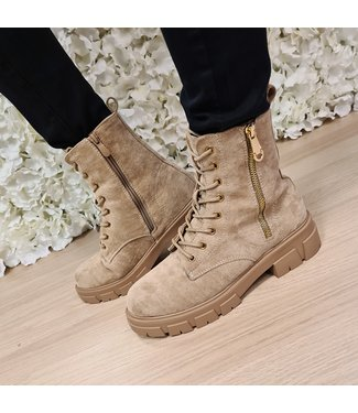 Tess Boots Khaki