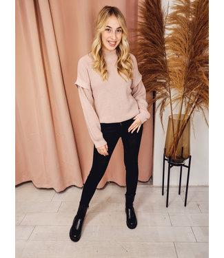 AMBIKA Sweater Vera Old Pink