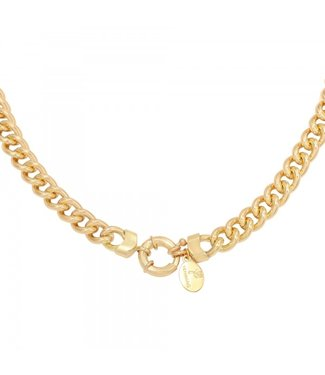 Necklace Chain Holly Gold