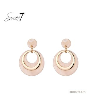 Earrings Hoops Pink