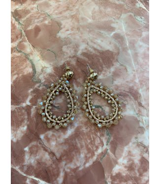 Earring Stacy Pink/Gold