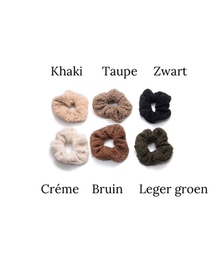 Teddy Scrunchie All Colors