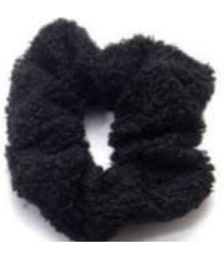Teddy Scrunchie Black