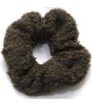 Teddy Scrunchie Army Green