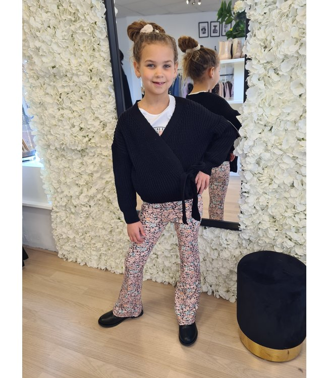 GIRLS Cardigan Laila Black