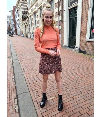 LOFTY MANNER Skirt Dylana Peach Green