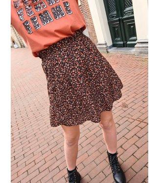 LOFTY MANNER Skirt Otilia Black Peach