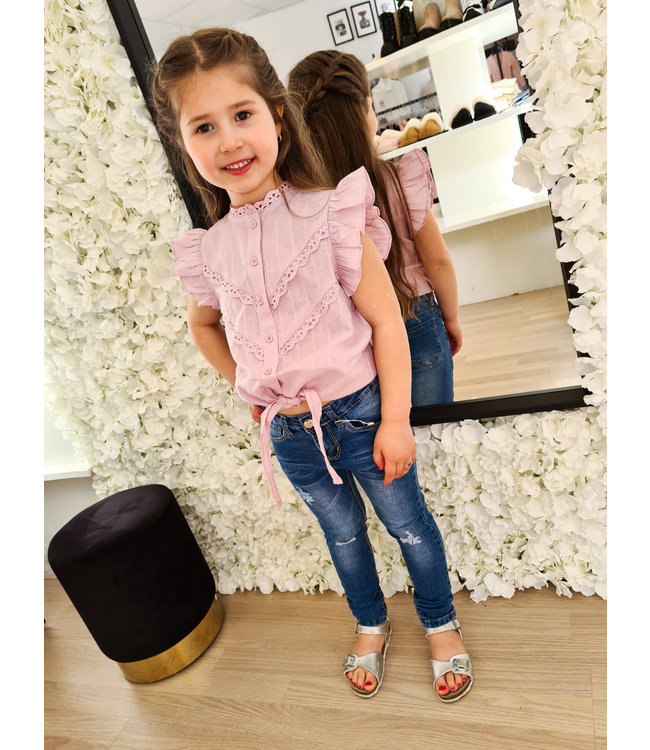 GIRLS Blouse Desiree Lila