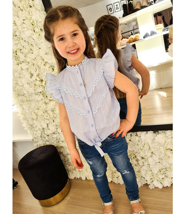 GIRLS Blouse Desiree Blue