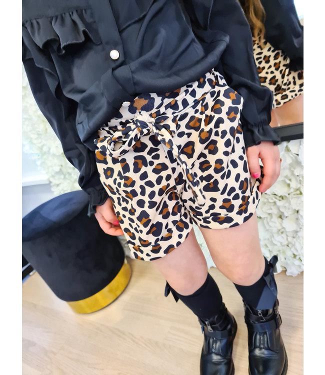 GIRLS Short Mandy Leopard