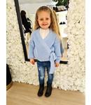 GIRLS Cardigan Laila Blue