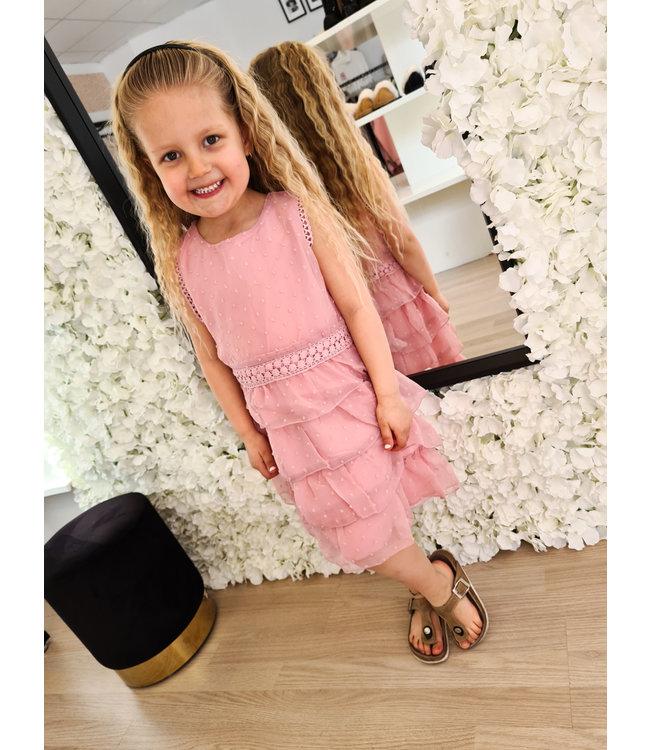 GIRLS Dress Naromi Pink