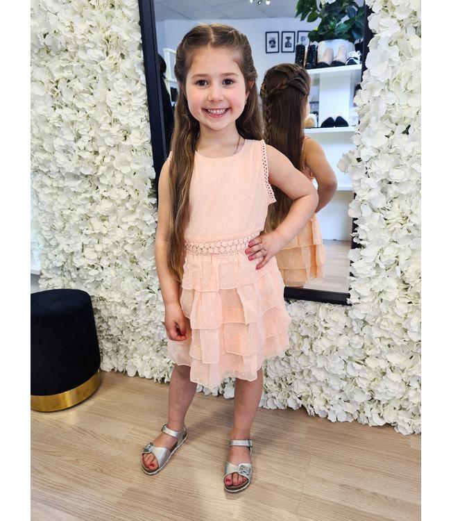 GIRLS Dress Naromi Peach