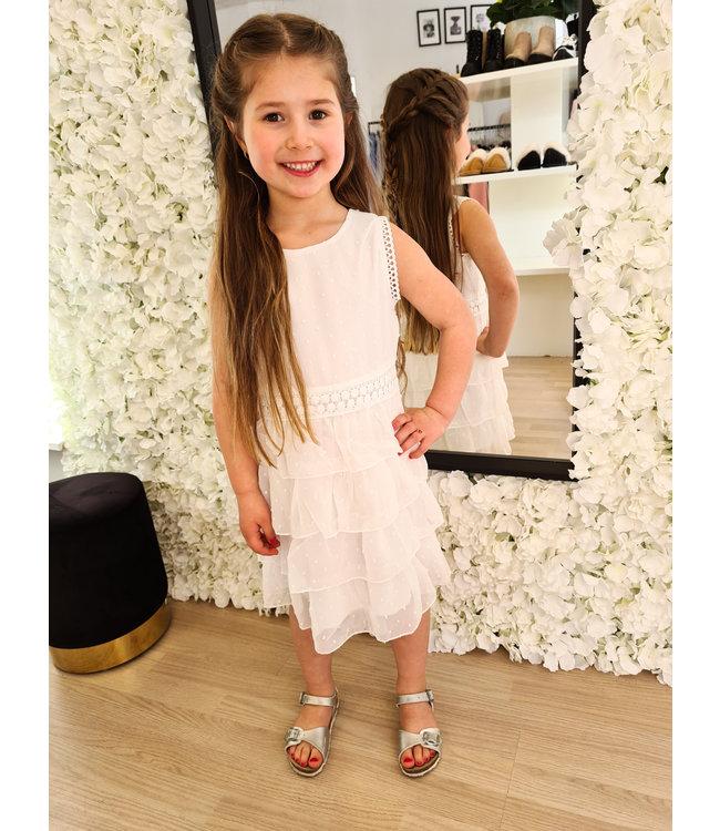 GIRLS Dress Naromi White