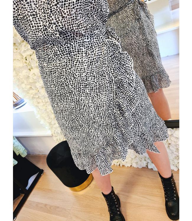 Wrap Skirt Rosie Black