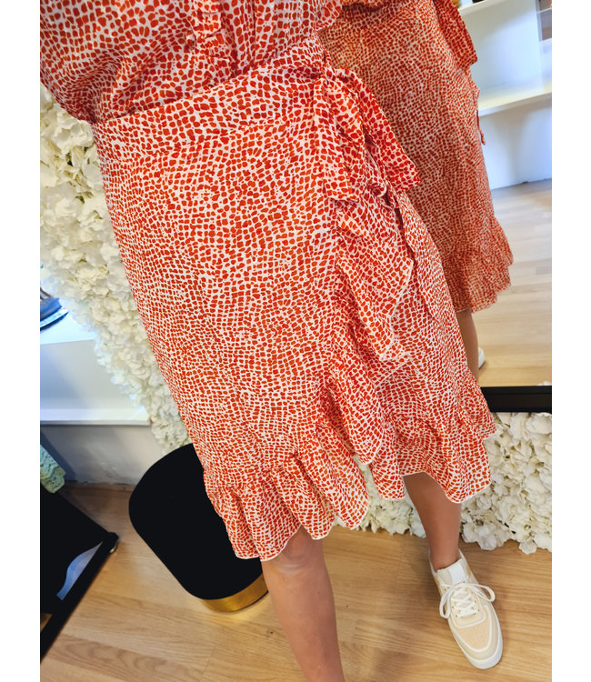 Wrap Skirt Rosie Red