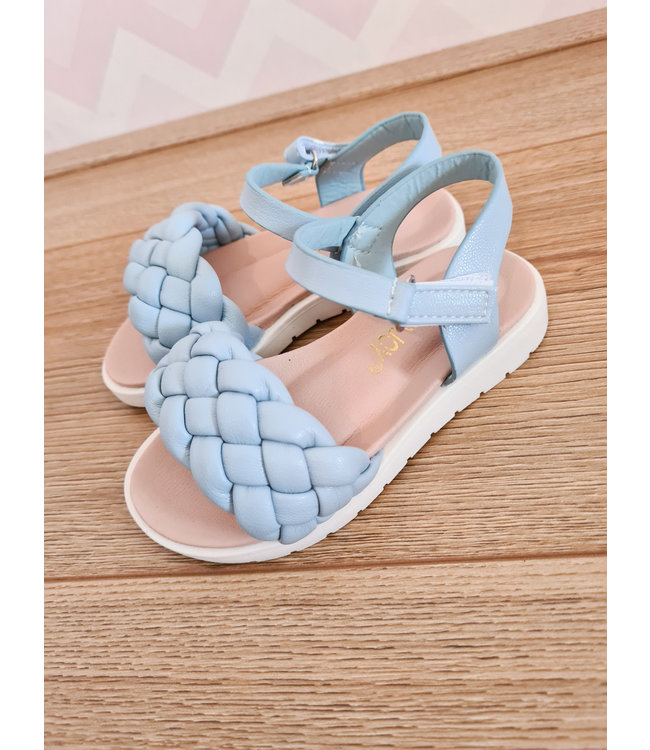 GIRLS Cable Sandals Blue