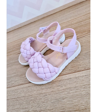 GIRLS Cable Sandals Lila