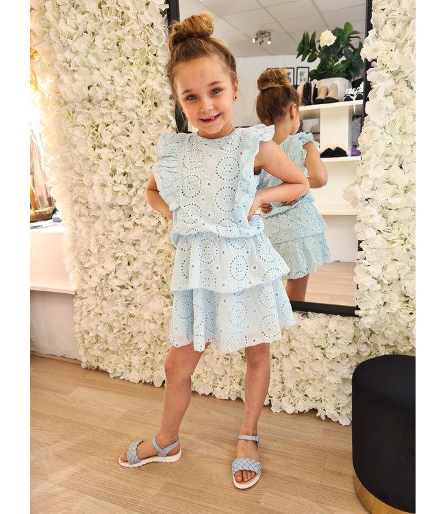 GIRLS Dress Loevia Blue