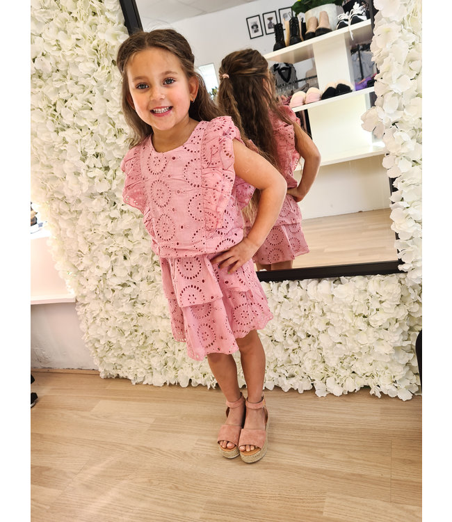 GIRLS Dress Loevia Pink