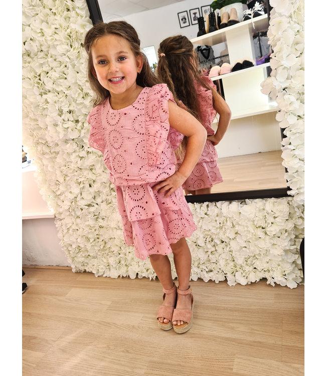 GIRLS Dress Loevia Pink