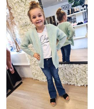 GIRLS Knitted Vest Mint