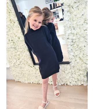 GIRLS Col Dress Black