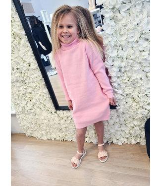 GIRLS Col Dress Pink