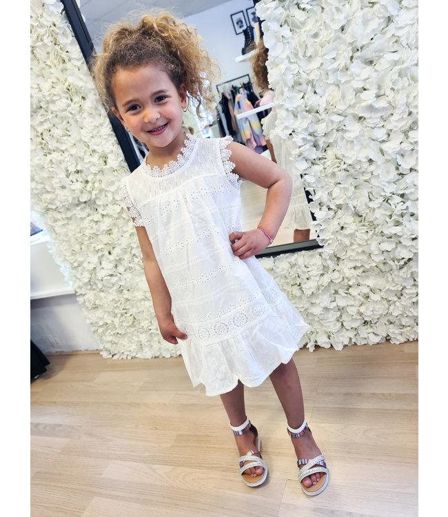 GIRLS Dress Sarah White