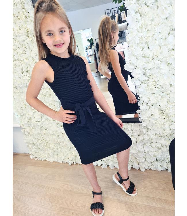 GIRLS Dress Merel Black