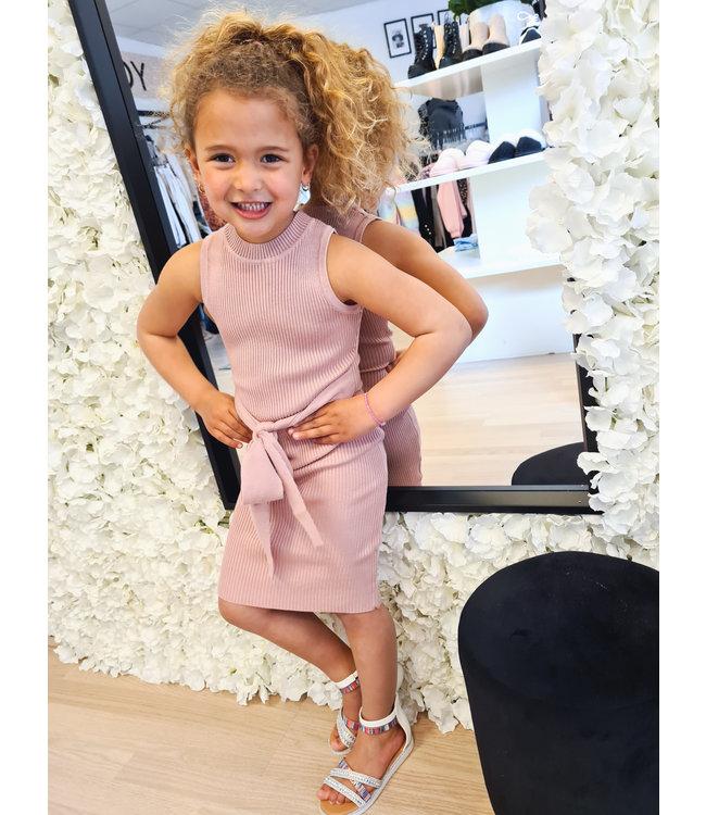 GIRLS Dress Merel Dusty Pink