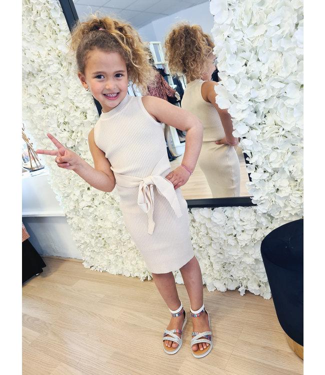 GIRLS Dress Merel Sand