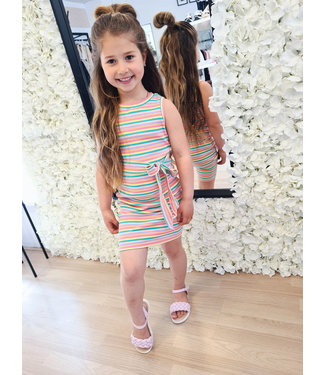 GIRLS Dress Amber Pink