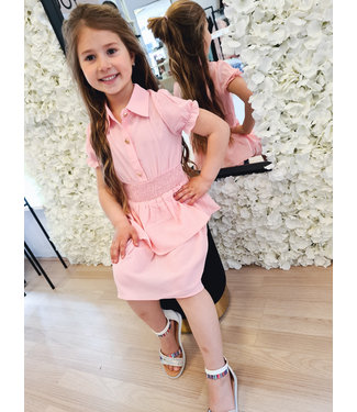 GIRLS Dress Mandy Pink