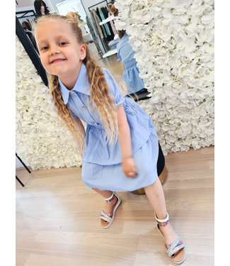 GIRLS Dress Mandy Blue