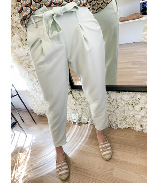 LOFTY MANNER Trouser Chloe Mint
