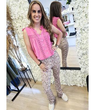 AMBIKA Top Arancha Pink