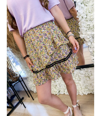 AMBIKA Skirt Nour Yellow Floral