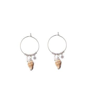 Go Dutch Label Earrings Shell