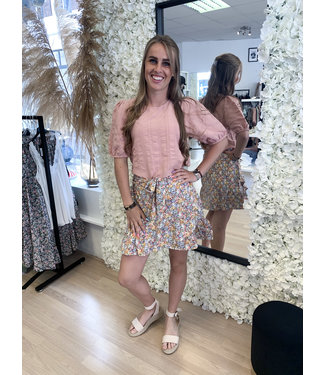 LOFTY MANNER Top Giulia Pink