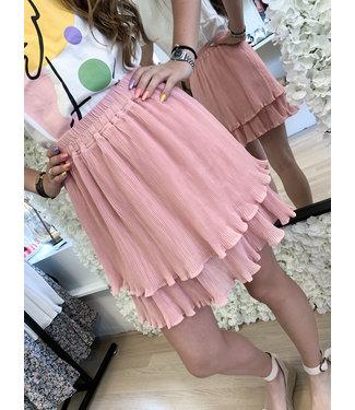 LOFTY MANNER Skirt Hinda Pink