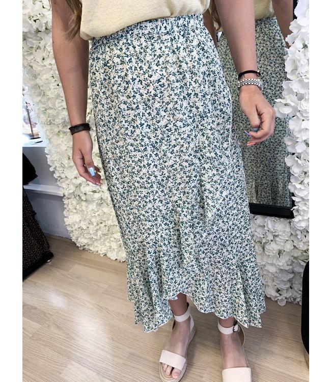Maxi Skirt Cheyen Green
