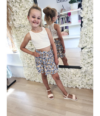 GIRLS Top Lace White