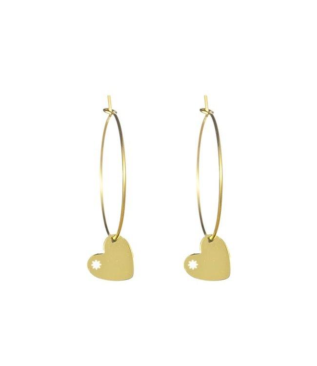 Go Dutch Label Earrings Hearts Mandy