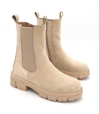 PRE-ORDER Chelsea Boots Khaki