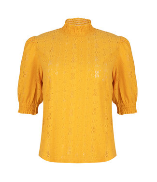 LOFTY MANNER Top Gabriela Yellow