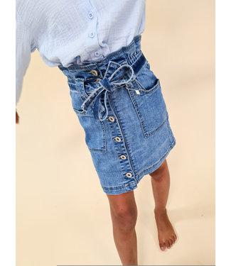 GIRLS Denim Skirt Blue